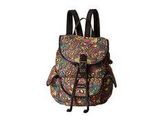 Sakroots Artist Circle Small Flap Backpack