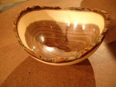 wood turning   How to Turn a Natural-Edge Bowl : How-To : DIY Network