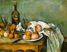 Paul Cézanne - Still Life with Onions, 1895 at Musée d'Orsay Paris France by mbell1975, via Flickr