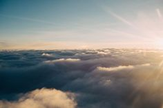 above the clouds, sky, sunshine, sun rays, nature Hd Photos, Nature Photos, View Photos, White Clouds, Sky And Clouds, Formation Photo, Heaven Pictures, Free Sky, Stars