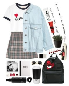 """""""save me"""" by neightasha ❤ liked on Polyvore featuring Tory Burch, Converse, Muuto, Chiara Ferragni, ROOM COPENHAGEN, American Apparel, Butter London, St. Tropez, Korres and Aesop"""