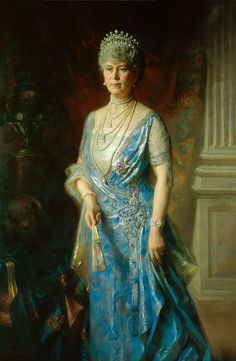 Queen Mary by Arthur Trevethin Nowell, circa 1927