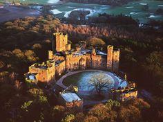 Castle Hotels in Europe : Condé Nast Traveler. Peckforton Castle