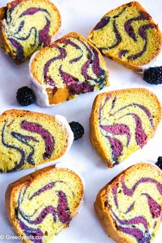 Vanilla Bundt Cake with Berry Swirls