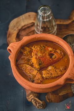 Red Snapper Fish Curry | Sankara Meen Kuzhambhu - Red Snapper fish cooked with spices in country style.