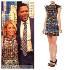 Kelly & Michael: April 2016 Kelly's Multicolor Mini Dress