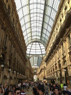 Although a spent a night in Milano, I never felt as though I got to know anything about the city.