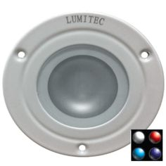 Lumitec Shadow - Flush Mount Down Light - White Finish - 4-Color White/Red/Blue/Purple Non Dimming