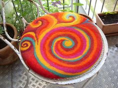 I lust after these cushion covers. they're fantastic and she has a quick explanation here:  http://www.ravelry.com/projects/holofernes/little-india