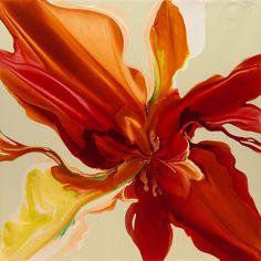 "Cristina Zorrilla Speer; Acrylic, 2012, ""Passion"""