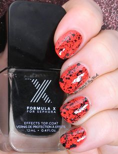 Sephora Formula X Blast Off over Push the Limits | Be Happy and Buy Polish http://behappyandbuypolish.com/2015/05/27/sephora-formula-x-push-the-limits-blast-off-swatch-review/