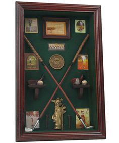 Golf Clubs Repurposed Perfect to display Scotland trip and other golf memorabilia that I have collected. Golf Club Crafts, Golf Bar, Golf Gadgets, Golf Room, Best Golf Clubs, Golf Exercises, Displaying Collections, Ladies Golf, Shadow Box