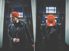 Billionaire Boys Club Wolf Leather Jacket. Editorial.
