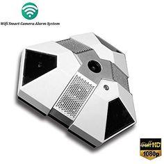 WIFI IP Camera Smoke and Gas Sensor Alarm HD1080P Spy Camera Wireless Nanny…