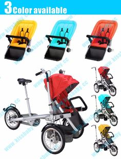 79.00$  Watch now - http://alitrg.worldwells.pw/go.php?t=32768656648 - Taga mother baby stroller bike seat big wheel 79.00$