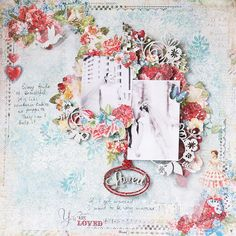 Wedding layout with Heartland collection by Vera Shelemekh