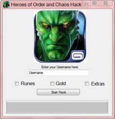 Heroes of Order and Chaos Hack Tool No Survey Free Download