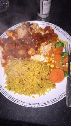 Chicken chasseur syns just for the rice :) Slimming World, Curry, Rice, Chicken, Ethnic Recipes, Food, Curries, Meals, Yemek