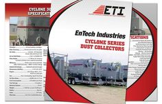 Another project I recently completed was for a new client in Minnesota, EnTech Industries. Here is their 2013 Dust Collectors catalog. #catalogdesign #entech #dust #layout