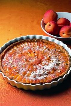 Tarte feuilletée aux abricots