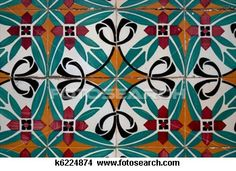 Photo about Colorful vintage spanish style ceramic tiles wall decoration. Image of exterior, tile, decoration - 34792903 Antique Tiles, Vintage Tile, Vintage Ceramic, Tile Art, Mosaic Tiles, Tile Patterns, Textures Patterns, Glazed Tiles, Vintage Decor