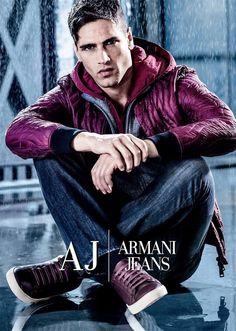 Fabio Mancini for Armani Jeans FW 2016