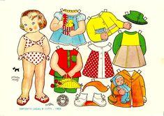 muñecas recortables