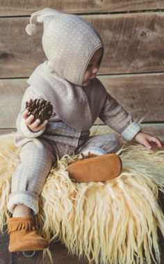 Cute winter outfit for baby.