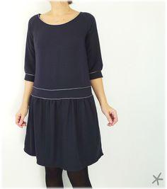 """le haut de la """"Must Have"""", les manches de la """"Mademoiselle"""", le bas de la """"Mulpep"""" version robe..."""
