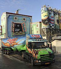 european painted trucks - Google Search