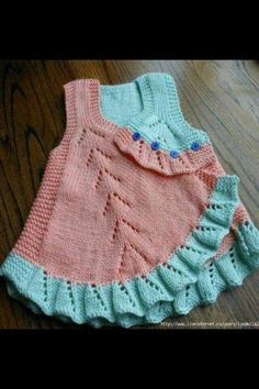 "Knitting baby dress [   ""Crochet Art added 101 new photos to the album: KnTtInG KiDs WeArS!"" ] #<br/> # #Crochet #Art,<br/> # #Crochet #Clothes,<br/> # #Baby #Dresses,<br/> # #Knitting #Patterns,<br/> # #Anne,<br/> # #Anastasia,<br/> # #Tissues,<br/> # #Pretty<br/>"