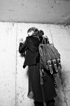 A shot from our FW'11 campaign shot by Karen Rose