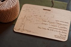 21 Unique Wedding Invitation Designs You Have To See | https://brideandbreakfast.ph/2015/02/04/21-unique-wedding-invitation-designs-you-have-to-see/