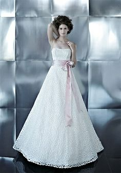 The dress I picked for my wedding. Bellissima Couture - Grazia. I skipped the sash.
