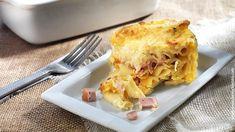Πένες σουφλέ με τυριά και ζαμπόν στο φούρνο από την Αργυρώ Μπαρμπαρίγου | Εύκολη συνταγή για πεντανόστιμο σουφλέ ζυμαρικών που αρέσει σε όλους! Cookbook Recipes, Cake Recipes, Dessert Recipes, Cooking Recipes, Desserts, My Favorite Food, Favorite Recipes, Greek Cooking, Eggplant Parmesan