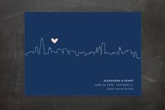 Love In The City by Erin Deegan at minted.com