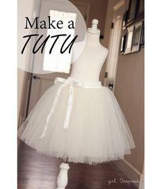 Tutorial  Make a tutu for dress-up or layering b95c03e08f9