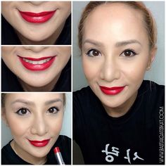 Do your squats, eat your vegetables, wear red lipstick, and don't let boys be mean to you!  Happy International Women's Day!  Wearing @revlonph Ultra HD #lipstick in Gladiolus. Very moisturizing with true color quality! I am in love! ❤️ #bastaigatsikat #makeup #instamakeup #beauty #bblogger #beautyblogger #beautybloggersph #instabeauty #revlon #revlonph #fotd #eotd #lotd #muotd #motd #nofilter #selfie #red #women #girlpower #loveison #ultraHDPh
