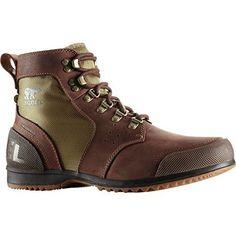 Sorel Ankeny Mid Hiker Ripstop Boot - Men's Tobacco / Elk 9 - http://authenticboots.com/sorel-ankeny-mid-hiker-ripstop-boot-mens-tobacco-elk-9/