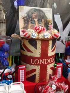 candy bar London mes de dulces Londres Beatles