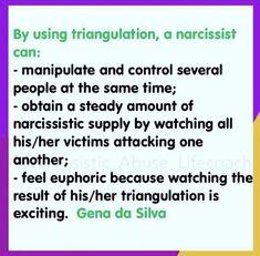 Sociopath controlling behavior