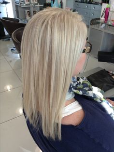 Beautiful cool blond.  By Melissa Martin