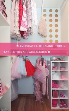 Creating A Dress Up Play Closet {The Forever Home Project