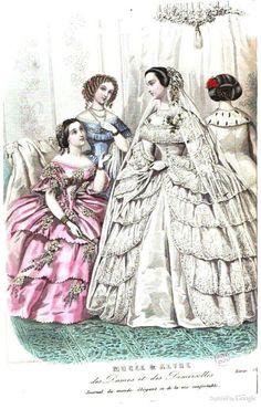 Revue et musée des dames et des demoiselles December 1855 | In the Swan's Shadow