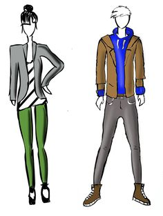 Fashion of different years