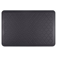 WellnessMats Estates Collection Coastal Series Midnight Blue Trellis 3 x 2 Foot AntiFatigue Mat * You can find more details by visiting the image link.-It is an affiliate link to Amazon. #Doormats