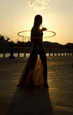 hooping by the river