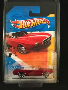 2011 Hot Wheels New Models 63 FORD MUSTANG II CONCEPT #14 Red 1:64 w/ PROTECTO  #HotWheels #Ford