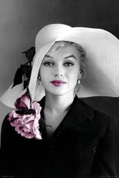 Marilyn black and white / color