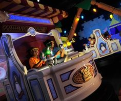 The Toy Story Ride at Disney World is awesome!!